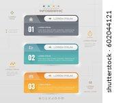 infographics rectangle design... | Shutterstock .eps vector #602044121