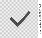 check mark vector icon eps 10... | Shutterstock .eps vector #602051564