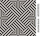 repeating geometric stripes... | Shutterstock .eps vector #602053031