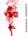 red smoke abstract background.   Shutterstock . vector #602063015