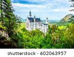 Small photo of Castle Neuschwanstein fairy landscape