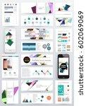 memphis geometric background...   Shutterstock .eps vector #602069069
