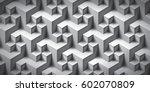 volume realistic unreal texture ... | Shutterstock .eps vector #602070809