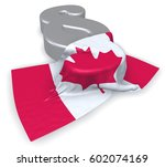 canada flag and paragraph... | Shutterstock . vector #602074169