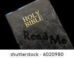 Small photo of A dusty Bible beckons our attention.