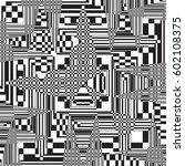 vector seamless pattern ... | Shutterstock .eps vector #602108375
