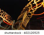 nocturnal light impressions... | Shutterstock . vector #602120525