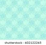 floral background  seamless... | Shutterstock .eps vector #602122265