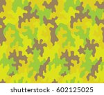 fashionable camouflage pattern  ...   Shutterstock .eps vector #602125025