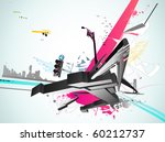 vector illustration of styled...