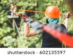 Small photo of Sky park, ropes, on carbines obstacles, family holidays