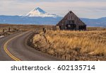 On the Road in Central Oregon near Dufur..  Central Oregon is rich in incredible vistas and old homesteads.