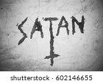 Text Satan An Upturned...
