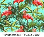 beautiful seamless vector... | Shutterstock .eps vector #602152109