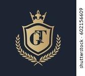gt logo | Shutterstock .eps vector #602156609