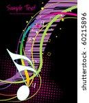 vector illustration of music...   Shutterstock .eps vector #60215896