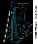 vector illustration of music... | Shutterstock .eps vector #60215902