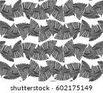 sea shell peaces in wavy...   Shutterstock .eps vector #602175149