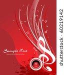 vector illustration of music... | Shutterstock .eps vector #60219142