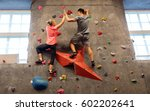 fitness  extreme sport ... | Shutterstock . vector #602202641