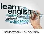 Learn English Word Cloud...