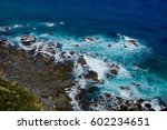 Small photo of Rocky ocean shoreline