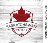 a canadian province crest on a... | Shutterstock . vector #602242301