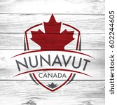 a canadian province crest on a... | Shutterstock . vector #602244605