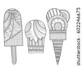 black and white illustration of ... | Shutterstock .eps vector #602246675