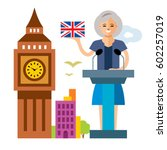 vector united kingdom policy.... | Shutterstock .eps vector #602257019
