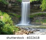 minnehaha falls  minneapolis ... | Shutterstock . vector #6022618
