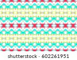 seamless colorful artistic... | Shutterstock . vector #602261951