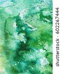 hand painted watercolor... | Shutterstock . vector #602267444