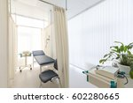 view of empty doctor's surgery. ... | Shutterstock . vector #602280665