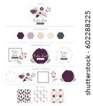 branding design  kit. logo... | Shutterstock .eps vector #602288225