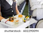 mid section view of an air... | Shutterstock . vector #602290094