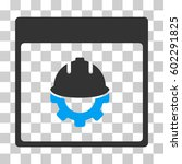 development calendar page icon. ... | Shutterstock .eps vector #602291825