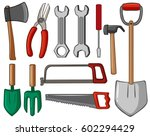 Different Types Of Hand Tools...