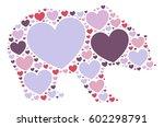 bear shape vector design... | Shutterstock .eps vector #602298791