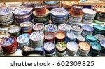 turkish ceramics in grand... | Shutterstock . vector #602309825