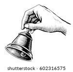 Hand With A Bell