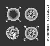 illustration set of various... | Shutterstock . vector #602316725