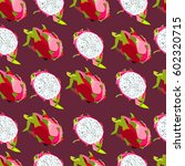 illustration of a pattern with... | Shutterstock .eps vector #602320715