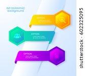 business options infographics... | Shutterstock .eps vector #602325095