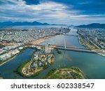 Da Nang City From Above In...