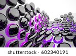 abstract dynamic interior with... | Shutterstock . vector #602340191
