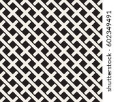 weave seamless pattern. stylish ... | Shutterstock .eps vector #602349491