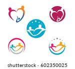 adoption and community care... | Shutterstock .eps vector #602350025