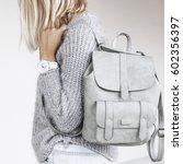 unrecognizable model wearing... | Shutterstock . vector #602356397