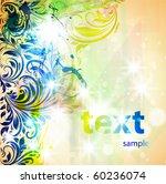 flower background | Shutterstock .eps vector #60236074